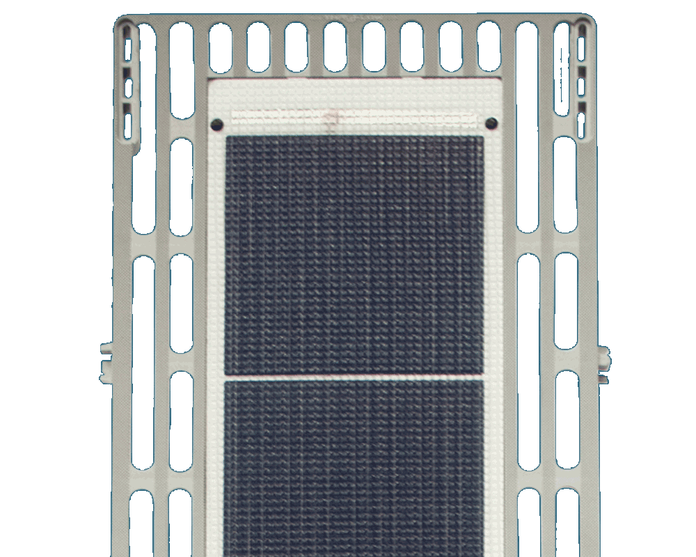 A Sol solar powered dock panel.