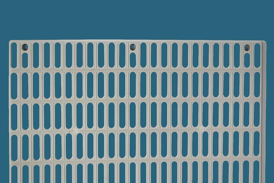 An Aqua-Dek decking panel.